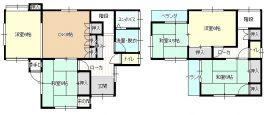 宇和島市大浦 中古住宅 間取り図