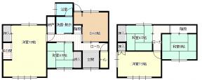 宇和島市保手 中古住宅 図面